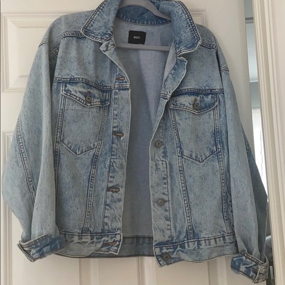 Urban Outfitters Jackets & Blazers - BDG acid wash jean jacket